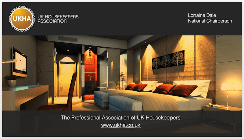 UKHA's Lorraine Dale, speaking at the Independent Hotel Show on 18th October