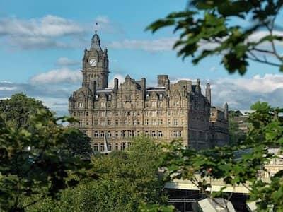 Room Attendant at the Balmoral, Edinburgh