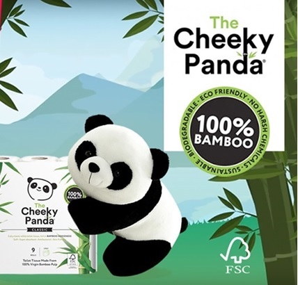 Free cuddly toy or panda hat from Cheeky Panda