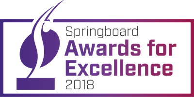 Congratulations to Michelle Ramage - winner at this year's Springboard Awards for Excellence!